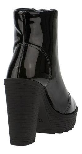 bota feminina coturno salto alto tratorado conforto promoção