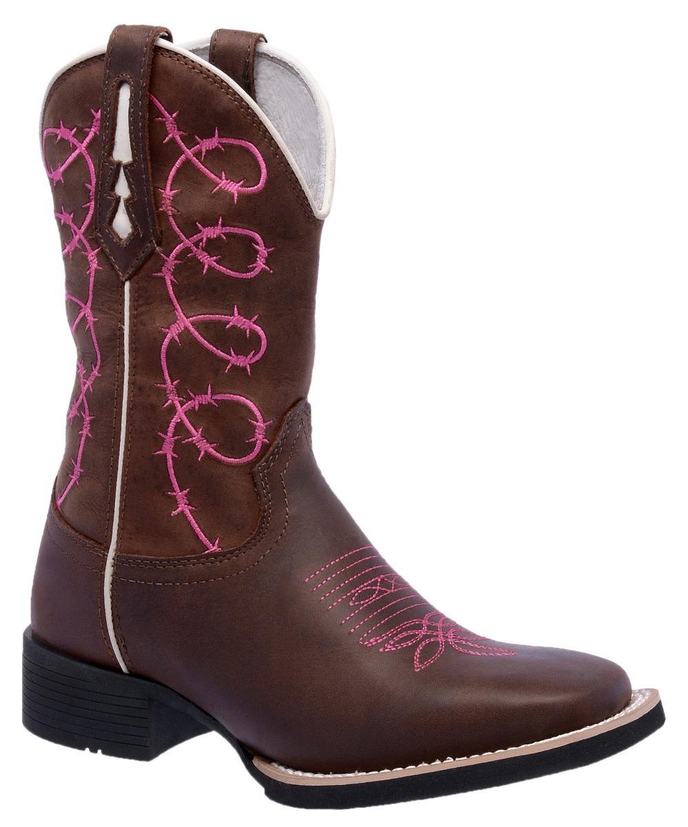 bfb668f4617d0 bota feminina country texana couro legitimo arame farpado. Carregando zoom.