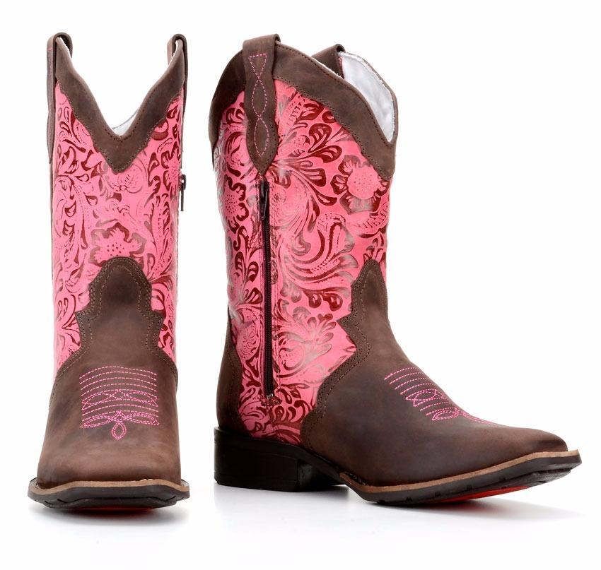 Bota Feminina Country Texana Montaria Capelli Boots 5600 - R  289 713fc3ed8a5