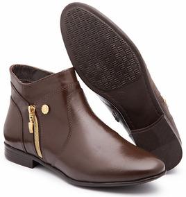 160270160 Bota Feminina Couro Macia - Calçados, Roupas e Bolsas no Mercado Livre  Brasil