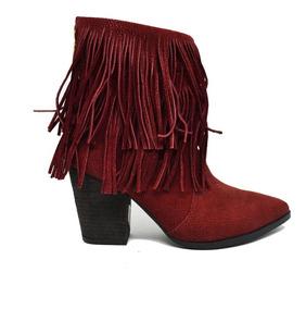 8107369496 Bota Country Feminina De Franja Promocao - Calçados, Roupas e Bolsas com o  Melhores Preços no Mercado Livre Brasil