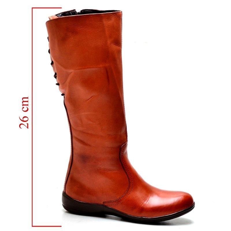 d26ba967f5a26 bota feminina de couro barata c/regulagem frete gratis. Carregando zoom.