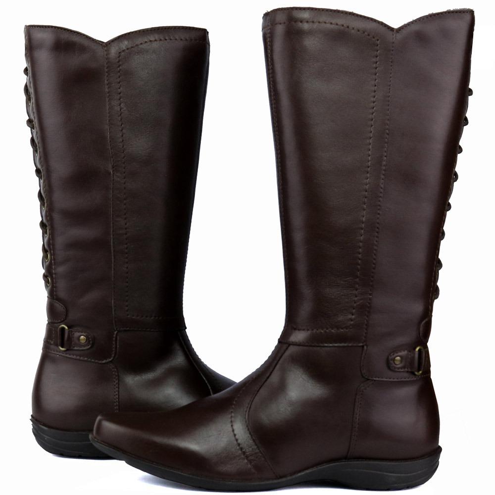b3de2a95c04 bota feminina em couro legítimo de boa qualidade. Carregando zoom.