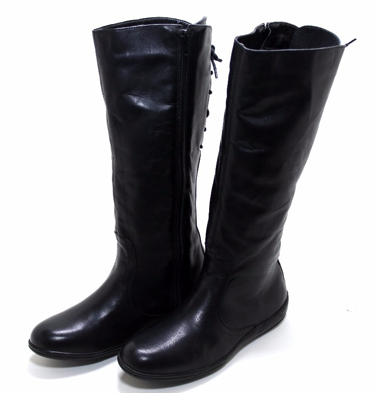 f26745269 bota feminina hipismo rasteira confortável em couro luxo. Carregando zoom.