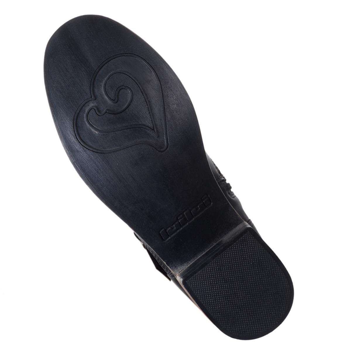 2e0a38515ba bota feminina luilui gassi preta. Carregando zoom.