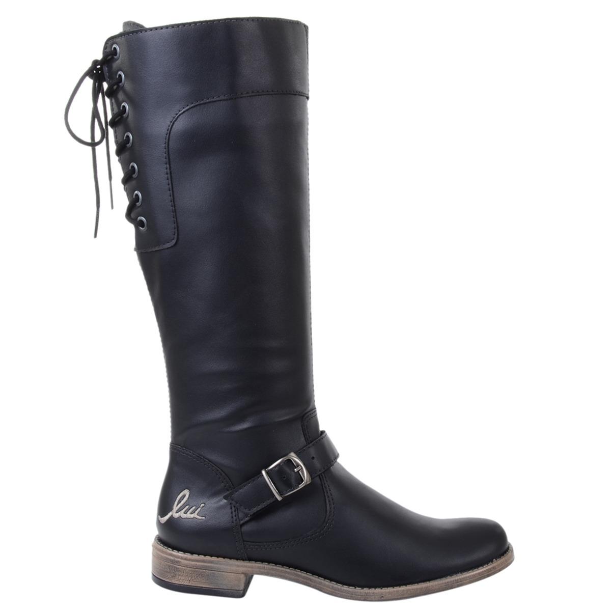 c4dc81b0d20 bota feminina luilui gassi preta. Carregando zoom.