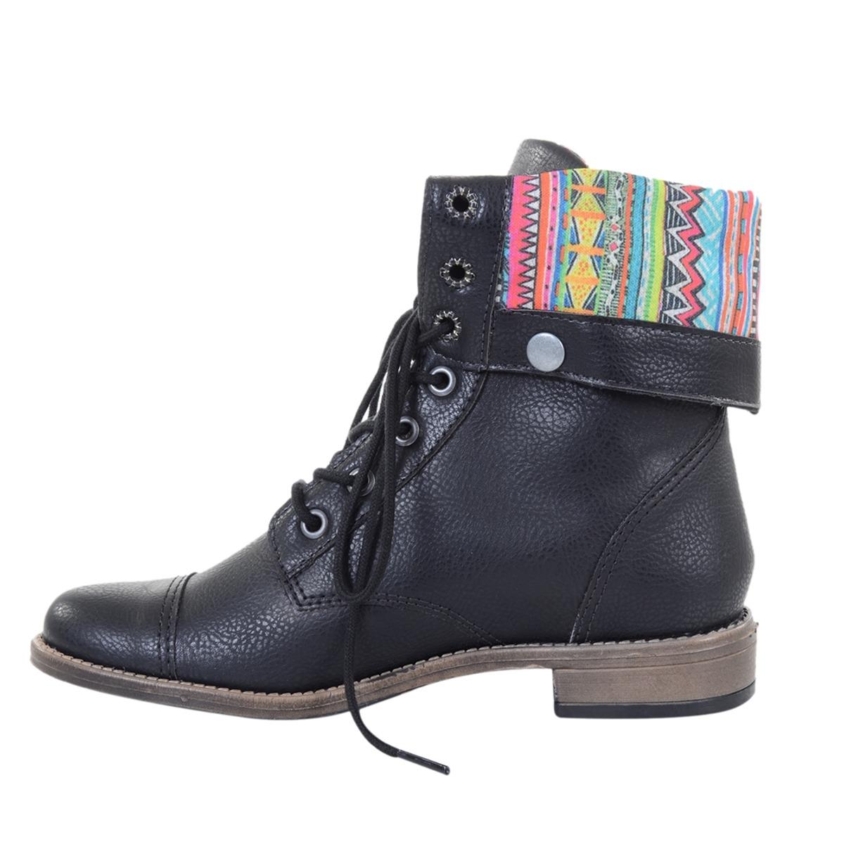 202a79c81c1 bota feminina luilui looza black. Carregando zoom.