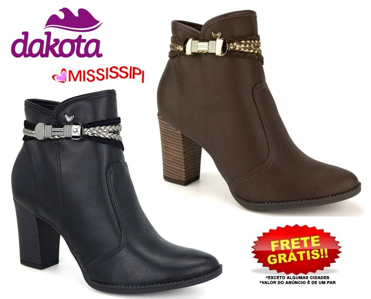 94b559cdf bota feminina mississipi - dakota ankle boot fivela x7681. Carregando zoom.