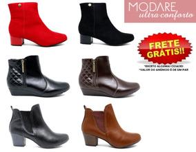 a6458416a6 Bota Confort Feminina Botas - Sapatos para Feminino Marrom em Rio Grande do  Sul no Mercado Livre Brasil