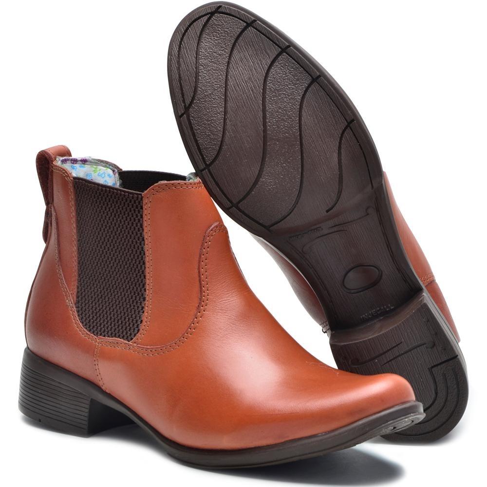 10c37fa53f3ed6  bota feminina montaria cano curto couro legítimo cla-clê. Carregando  zoom. cb19b0bbd1c87