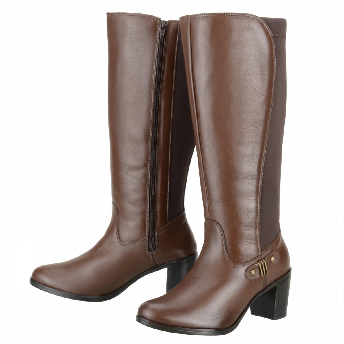 c35da06b5 bota feminina montaria dududias luxo couro legítimo - 249. Carregando zoom.