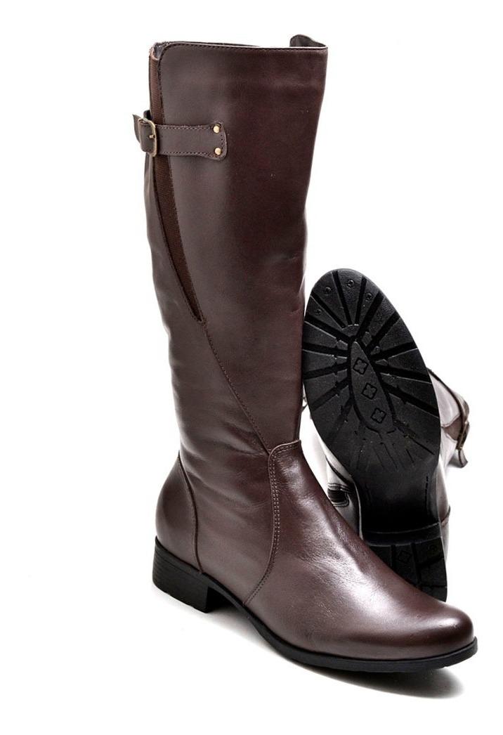 e2192fef64 bota feminina montaria em couro legitimo cano longo montaria. Carregando  zoom.
