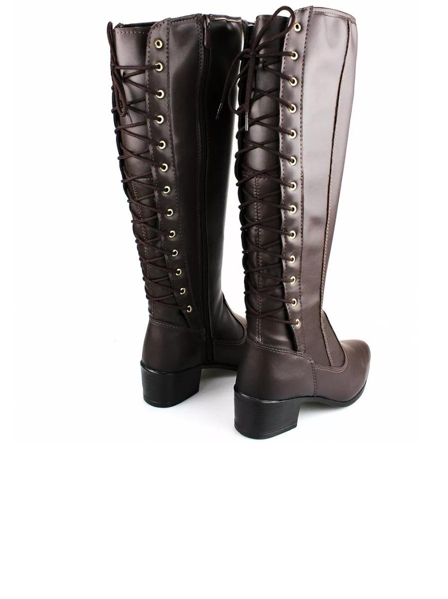 162e0bf463 bota feminina montaria inverno marrom liquidação outlet. Carregando zoom.