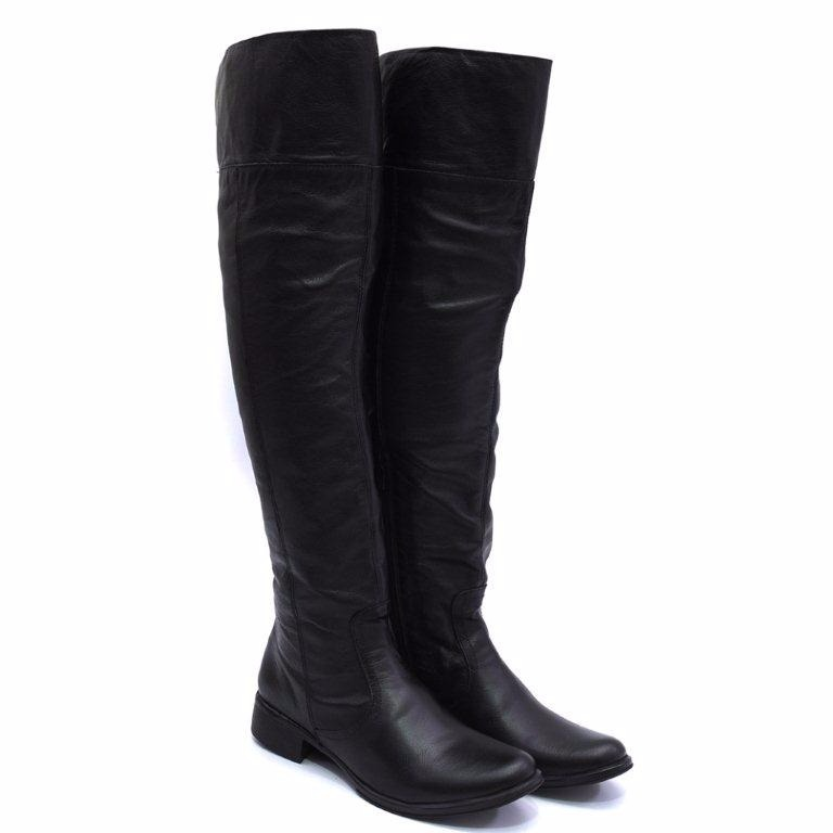 8836019e0 Bota Feminina Over The Knee Couro Cores Cla Cle 206 Top - R$ 221,99 ...