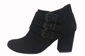 7bda89c27 Bota Coturno Feminina Salto Quadrado Alto - Sapatos no Mercado Livre ...