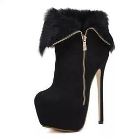 bbf7562ec3175 Sapato Ankle Boot Importado - Sapatos no Mercado Livre Brasil