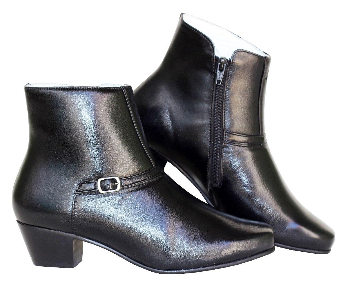 6290d752403 bota feminina social frete grátis cano curto couro luxo. Carregando zoom.