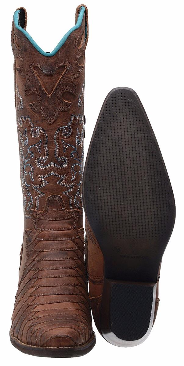 9a8b6bc8e3 bota feminina texana escamada montaria - 100% couro legitimo. Carregando  zoom.