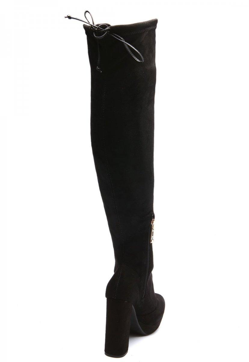 66cd6b49a bota feminina vizzano cano longo salto grosso preto 3065103. Carregando zoom .