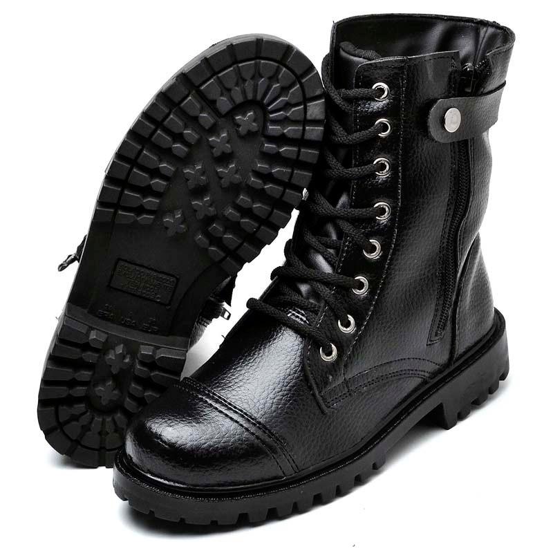 b0b3b540d2 bota feminino coturno militar tatico vigilante c  ziper. Carregando zoom.