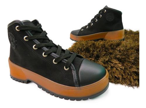 bota feminino moleca ref:5334.101