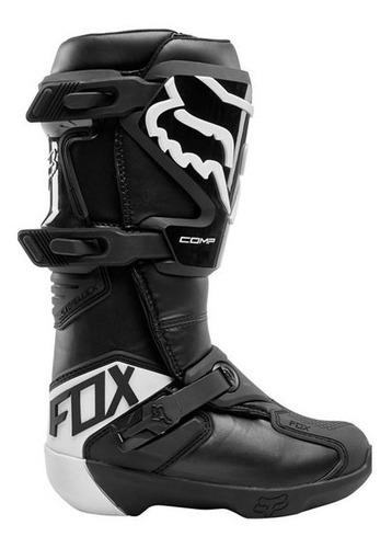 bota fox comp mujer negro motocross enduro