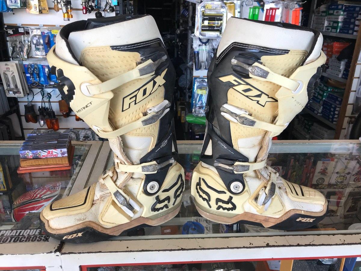 cde5372c197b6 bota fox instinct branca usada n39 motocross trilha enduro. Carregando zoom.