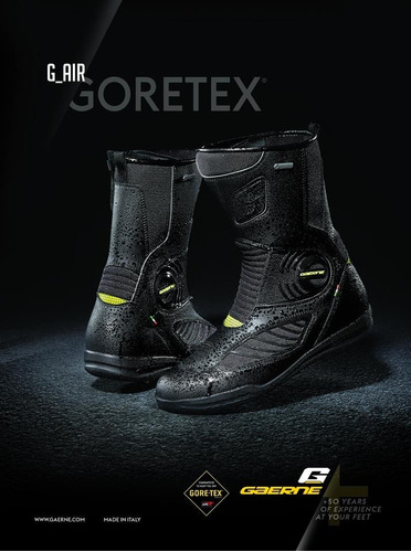 bota gaerne goretex g air impermeável top