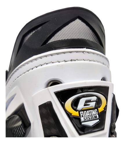 bota gaerne gp1 air carbono ventilada para competição moto