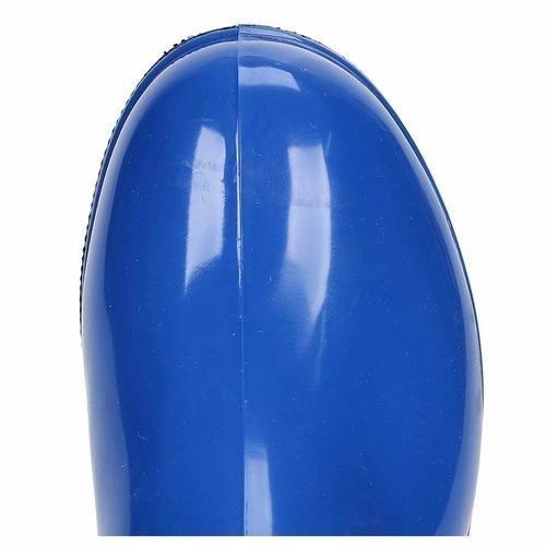 0aa15f9e948 Bota Galocha 100% Impermeável Borracha Pvc Feminina Azul - R  306