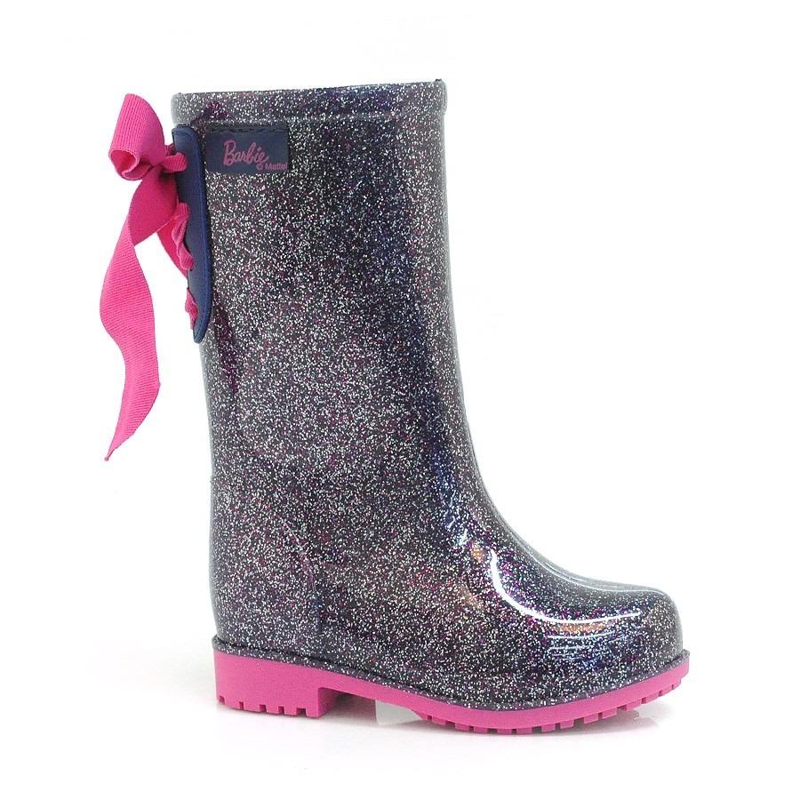3b60033848e bota galocha barbie power fashion glitter - grendene. Carregando zoom.