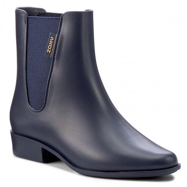 af97bd47c76 Bota Galocha Cano Curto Zaxy London Boot Ii - Azul - R  69