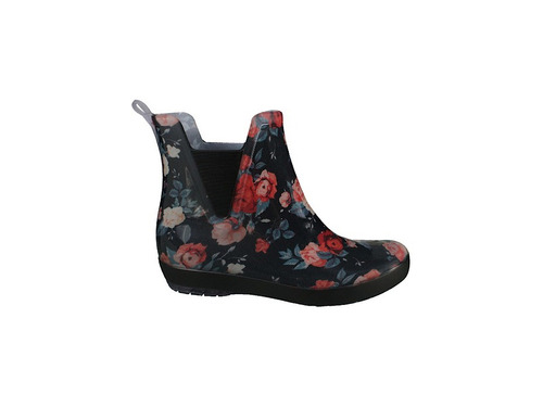 bota galocha chuva floral palmilha conforto holli boa onda
