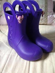 be4fc7e7f3 Galocha Infantil Crocs - Sapatos no Mercado Livre Brasil