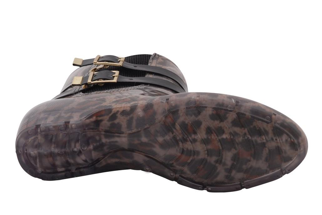 7eafd04a07e bota galocha feminina cano curto oncinha fivela 36350. Carregando zoom.