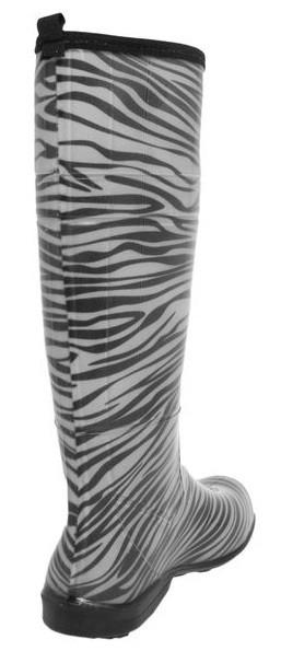 2faaf7ff123 Bota Galocha Fiveblu Cano Longo Zebra - Sedex Gratuito - R  160
