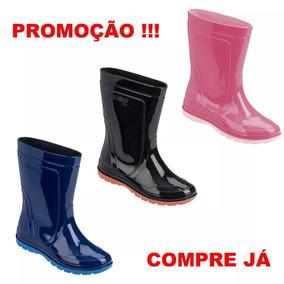 8f4b91506dc Galocha Bota Chuva Borracha Infantil - Botas Galochas Azul no Mercado Livre  Brasil