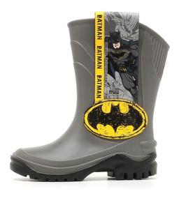 a7c291f910c Bota Galocha Infantil Liga Da Justiça Batman - Grendene