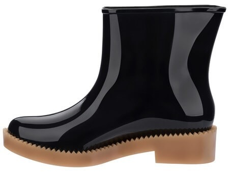 be392a66213 Bota Galocha Melissa Rain Drop Boot Preta - R  189