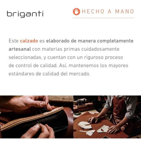 bota hombre borcego cuero zapato briganti - hcbo00823