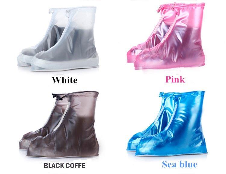9ba6417241c Bota Impermeable Para Lluvia Agua Protector D Zapatos Tenis ...