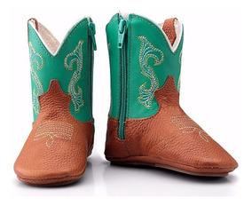 97e437bc73 Bota Country Em Couro Legítimo. Tamanho 20 - Sapatos 20 Azul com o Melhores  Preços no Mercado Livre Brasil