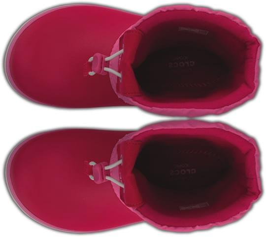 8dcd4b245b0 Bota Infantil Crocs Crocband Lodgepoint Boot Rosa -   1