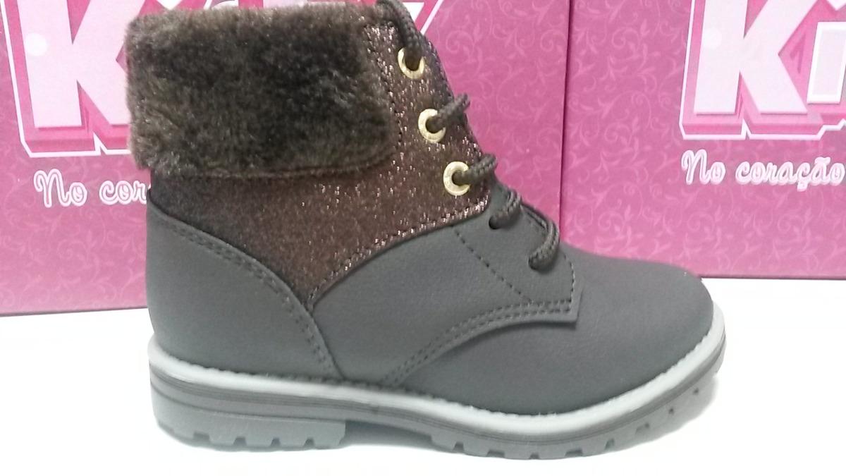 652b3923588 bota infantil fashion marrom tamanhos 22 ao 27 kidy - 20094. Carregando  zoom.