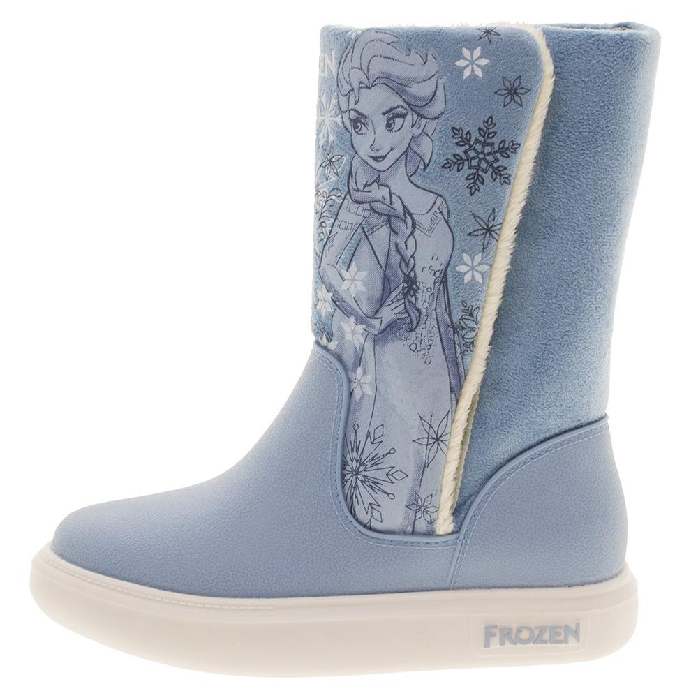 f5522301bc0 bota infantil feminina frozen snowland azul grendene kids -. Carregando  zoom.