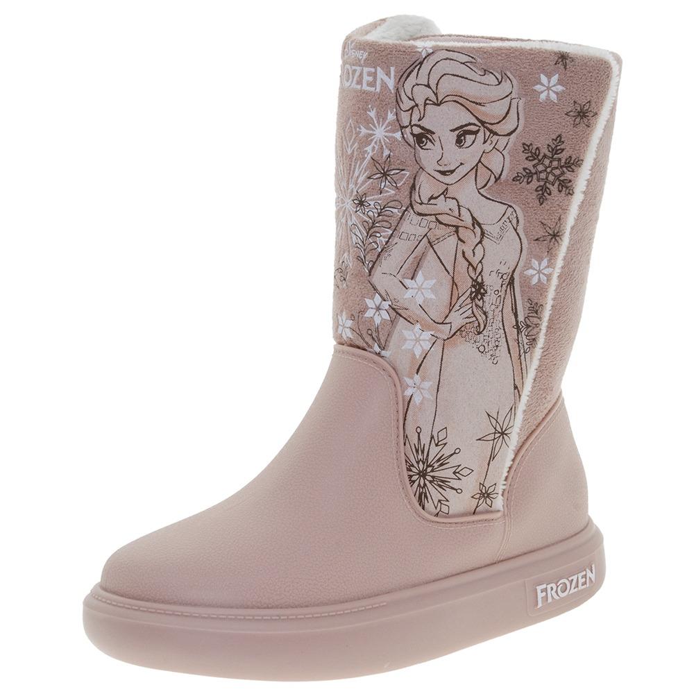 7089920594146 bota infantil feminina frozen snowland rosa grendene kids -. Carregando  zoom.