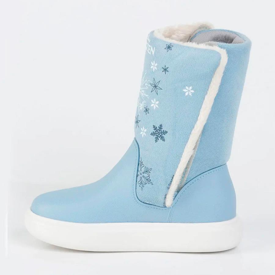 6ea430c255d bota infantil frozen pelúcia forrada lã grendene kids azul. Carregando zoom.