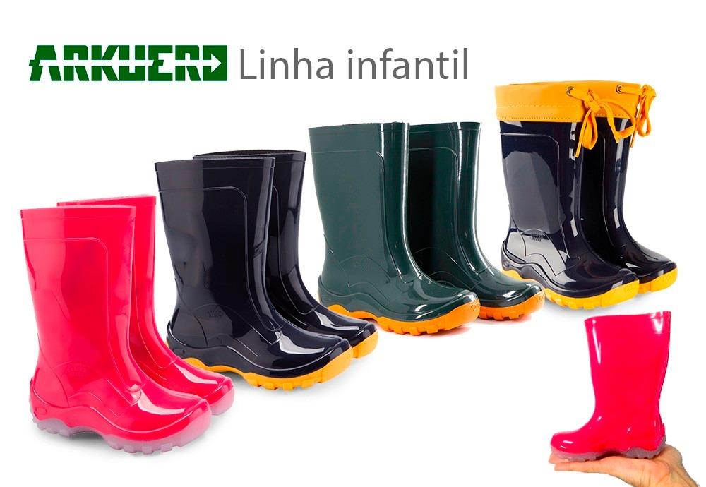 afd9ac7a0c7 bota infantil impermeável galocha pvc   borracha-kit 20pares. Carregando  zoom.