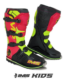fb7d432ae4b234 Bota Infantil Ims Light Kids Motocross Trilha Enduro