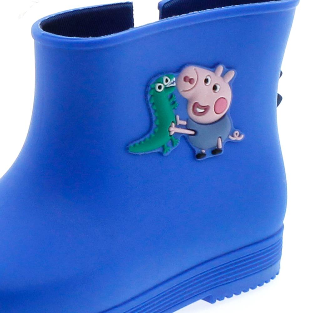 a555e9b1236 bota infantil masculina peppa e george boot azul - 21277. Carregando zoom.
